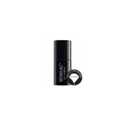 Semilac paris uv hybrid top żelowy lakier do paznokci ochronny i nadający połysk (no wipe) 7 ml