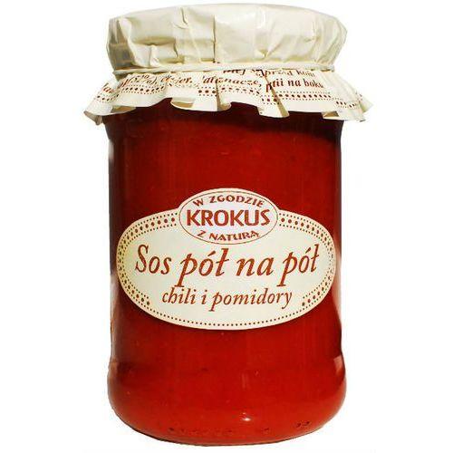 Sos pół na pół chili i pomidory 340g - krokus marki 193krokus