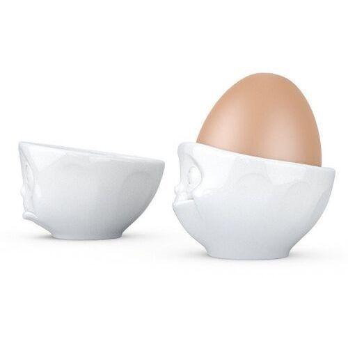 58products - zestaw 2 podstawek do jajek - zadąsana i delektująca się buźka