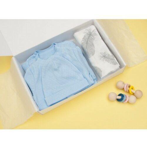 Zestaw dla noworodka # moja pierwsza wyprawka / komplet 7-częściowy pastelowy błękit - marki Dolce sonno