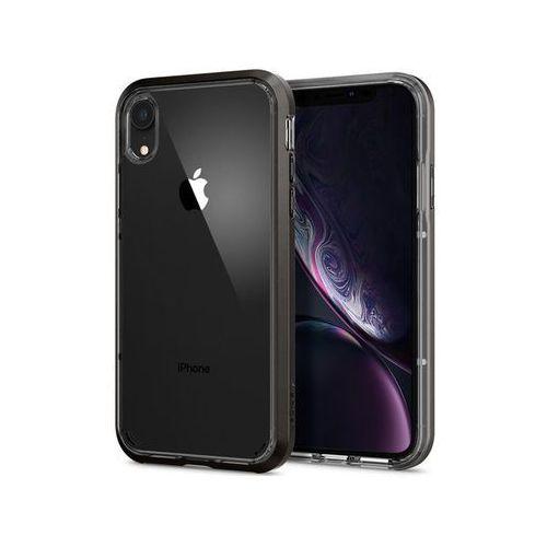 Etui Spigen Neo Hybrid Crystal Apple iPhone Xr Gunmetal - Czarny, kolor czarny