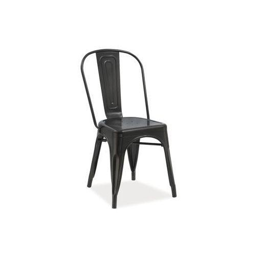 Krzesło LOFT black, kolor czarny