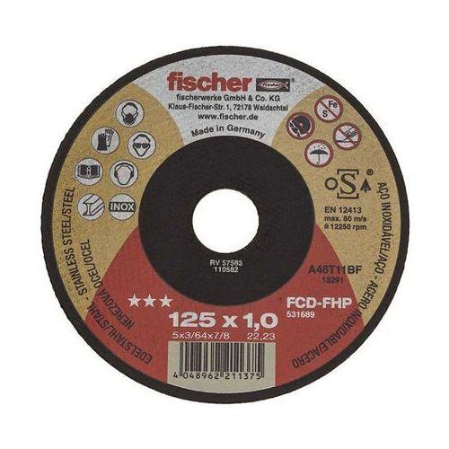 Fischer Tarcza do cięcia fcd-fhp 125x1,0x22,23 inox