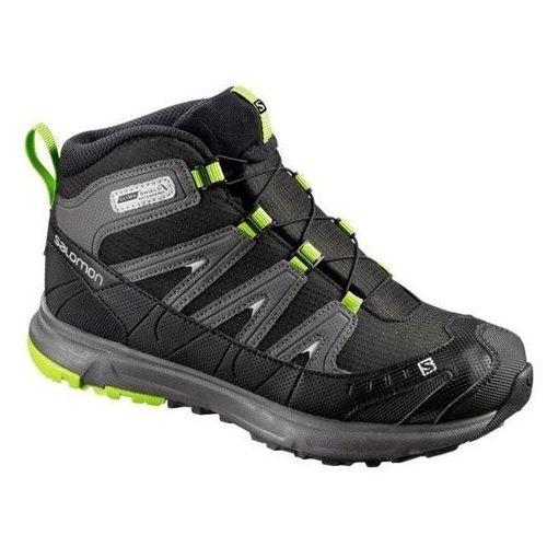 Buty trekkingowe  trail mid cs wp j (356947) marki Salomon