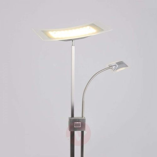 Lampenwelt.com Lampa stojąca led annik, naświetlacz