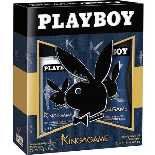 zestaw kosmetyków king&queen men dns+żel marki Playboy
