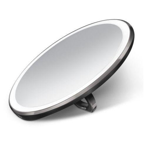 Lusterko podręczne sensorowe podświetlane Simplehuman 3x czarne, ST3030