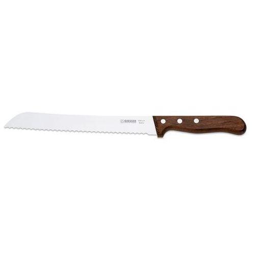 Nóż do pieczywa, ostrze faliste 210 mm, drewniana rękojeść | , 8350 w marki Giesser