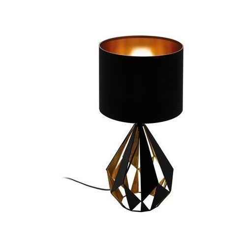 Eglo 43077 - Lampa stołowa CARLTON 1xE27/60W/230V (9002759430771)