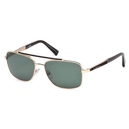 Okulary Słoneczne Ermenegildo Zegna EZ0036 Polarized 28R