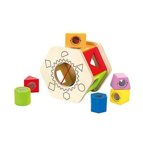 Hape Sorter kształtów dla dzieci Shake and Match, E0407