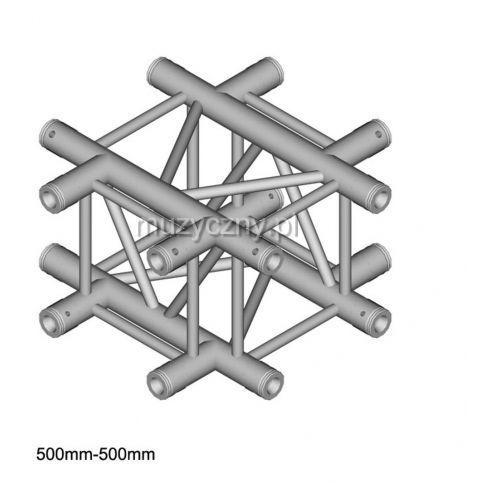 DuraTruss DT 34-C41-X element konstrukcji aluminiowej krzyżak 4-drożny Płacąc przelewem przesyłka gratis!