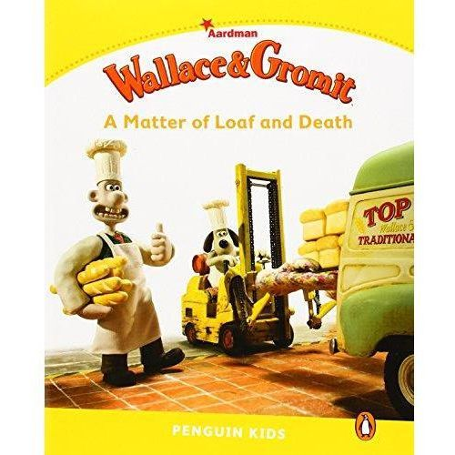 Wallace and Grommit: A Matter of Loaf and Death. Penguin Kids. Poziom 6 (9781447931386)