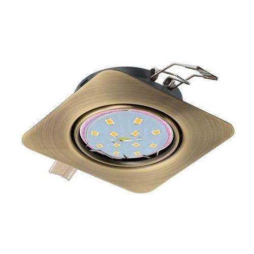 Oprawa wpuszczana Eglo Peneto 94265 downlight oczko 1x5W GU10-LED mosiądz oksyd., 94265