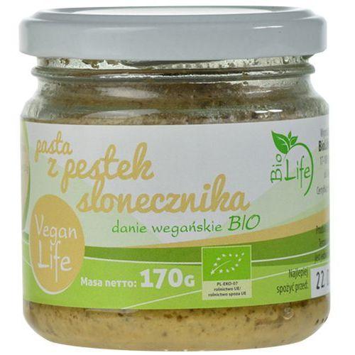BIOLIFE 170g Pasta z pestek słonecznika Bio | DARMOWA DOSTAWA OD 150 ZŁ! - produkt z kategorii- Przetwory warzywne i owocowe