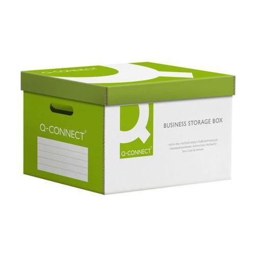 Pudło archiwizacyjne wzmocnione power, karton, zbiorcze, zielone marki Q-connect