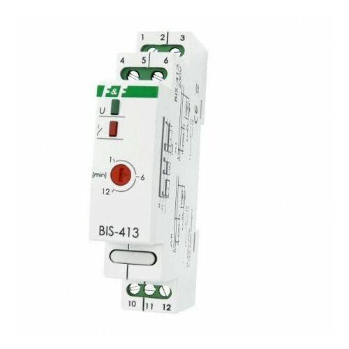 BIS-413 230V 16A Przekaźnik impulsowy z wyłącznikiem czasowym F&F 4079