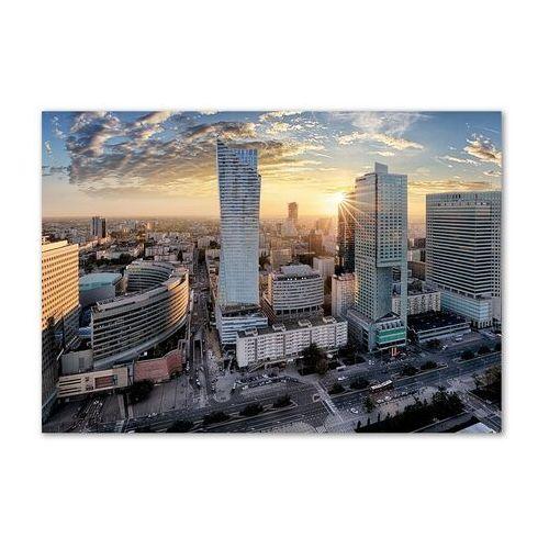 Foto obraz szkło akryl Warszawa Polska