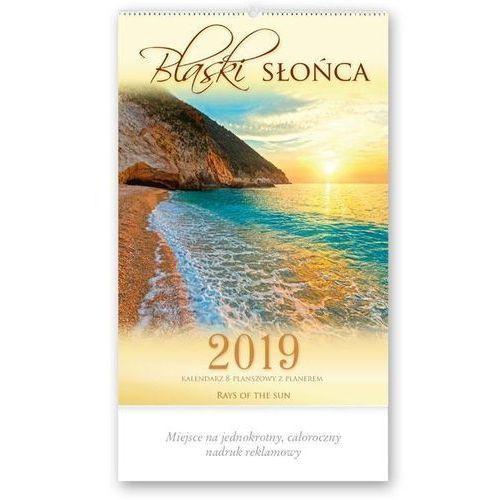 Kalendarz 2019 reklamowy blaski słońca re3 marki Lucrum