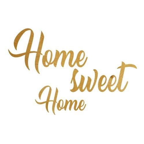 Congee.pl Dekoracja napis na ścianę home sweet home - 6 mm (5907509935466)