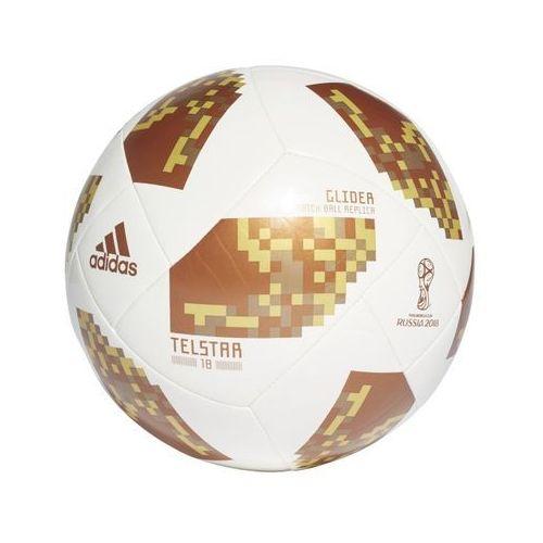 Piłka nożna russia 2018 telstar glider biało-złota ce8099 marki Adidas