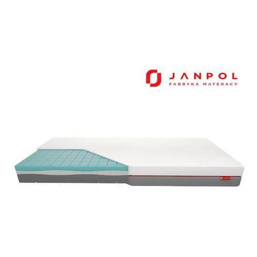 Janpol libera – materac piankowy, rozmiar - 160x190, pokrowiec - grey wyprzedaż, wysyłka gratis, 603-671-572