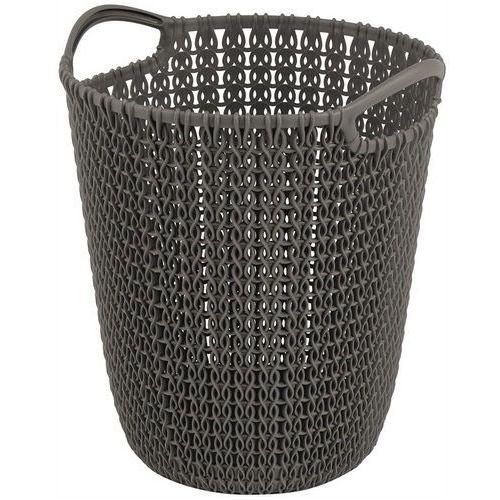 Kosz na śmieci 230094 knit 7l brązowy marki Curver