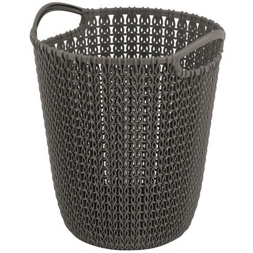 Kosz na śmieci 230094 knit 7l brązowy + zamów z dostawą jutro! marki Curver