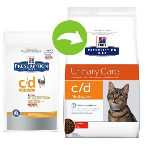 Hill's Prescription Diet Feline Urinary Tract Health C/D - 5 kg