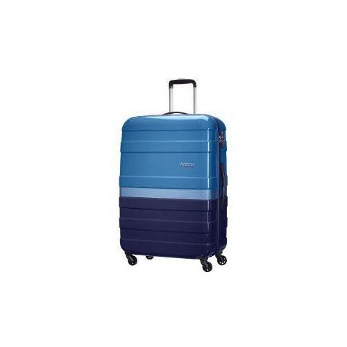 American tourister  walizka duża (l) z kolekcji pasadena materiał abs/ pc twarda 4 koła zamek szyfrowy tsa