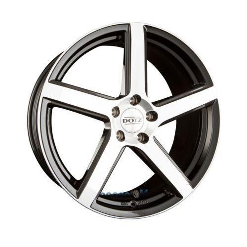 Dotz cp5 dark - black polished einteilig 8.50 x 18 et 35