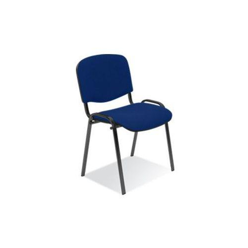 Nowy styl Krzesło iso lux black paleta 10 szt