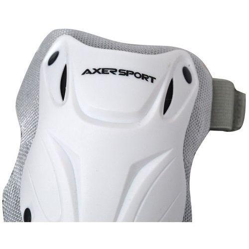 Zestaw ochraniaczy AXER SPORT A20791 (rozmiar XL) Biały (5901780920791)