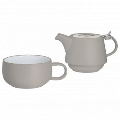 - tint - zestaw tea for one, szary marki Maxwell & williams