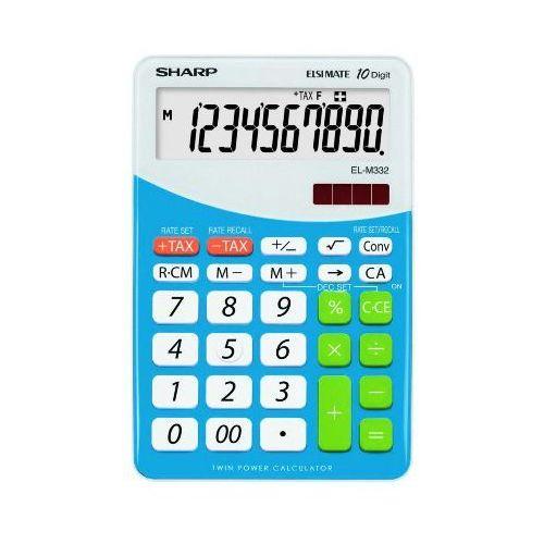 Kalkulator Sharp ELM332BBL Niebieski Darmowy odbiór w 20 miastach!