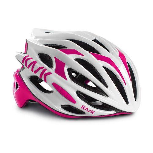mojito kask rowerowy różowy/biały 59-62 cm 2018 kaski szosowe marki Kask