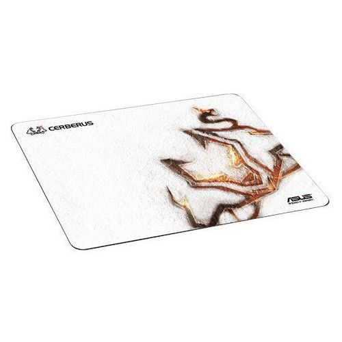 Asus cerberus arctic pad gaming fabric mouse pad white