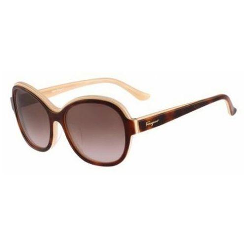 Okulary słoneczne sf 745sa 219 marki Salvatore ferragamo