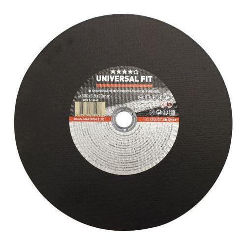 Tarcza do cięcia metalu Universal fit 300 x 3,5 mm (3663602812067)