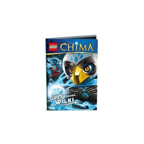 KSIĄŻKA LEGO LEGENDS OF CHIMA - ORŁY KONTRA WILKI