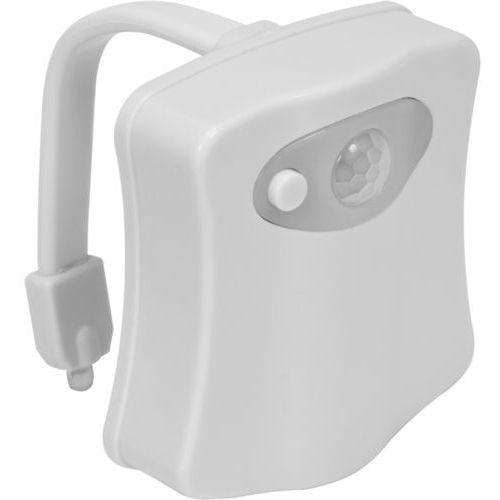 Lampka LED z czujnikiem ruchu i światła do podświetlania muszli WC / 75455 / FALA - ZYSKAJ RABAT 30 ZŁ