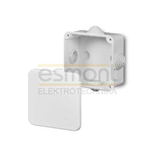 Elektro-plast nasielsk Elektro-plast 0242-00 - puszka natynkowa hermetyczna ip55 fast-box 90x90x52