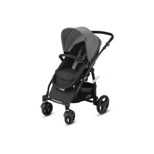 Cbx wózek 2w1 leotie flex comfy grey - kolor szary
