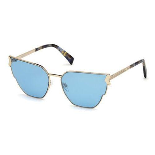 Okulary Słoneczne Just Cavalli JC 824S 01V, kolor żółty