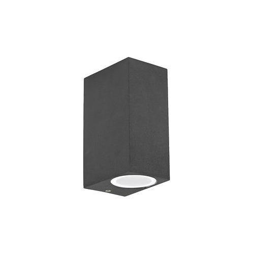 Ideal lux 115337 - kinkiet zewnętrzny 2xe27/28w/230v antracyt