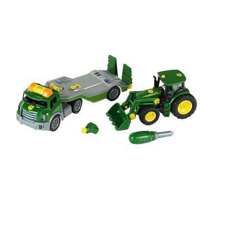 Klein Traktor john deere do skręcania na lawecie