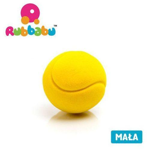Rubbabu Mała sensoryczna piłka tenisowa - żółta - (8904002013766)