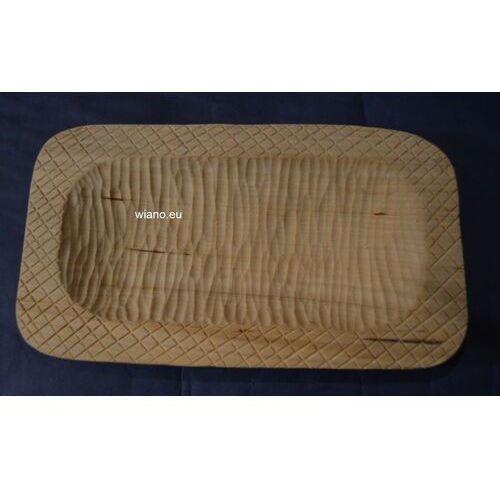 Miska karpacka, drewniana, rzeźbiona 25x14 cm (ag-7) marki Twórca ludowy