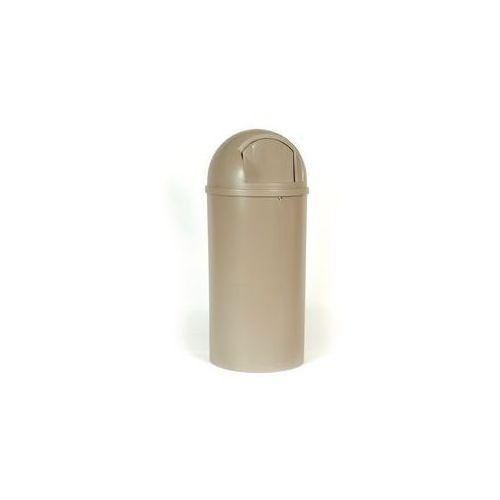 Rubbermaid Pojemnik na odpady (pe), ogniotrwały,poj. 80 l, wys. x Ø 1070 x 455 mm