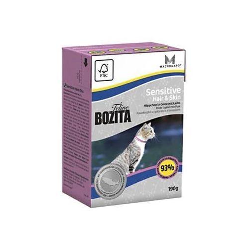 feline hair & skin sensitive 0,4kg - 0,4kg marki Bozita